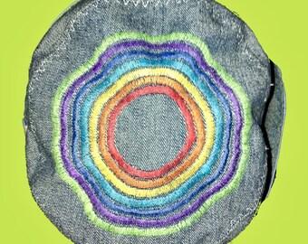 e11ed1a2a73 Rainbow Sun hat
