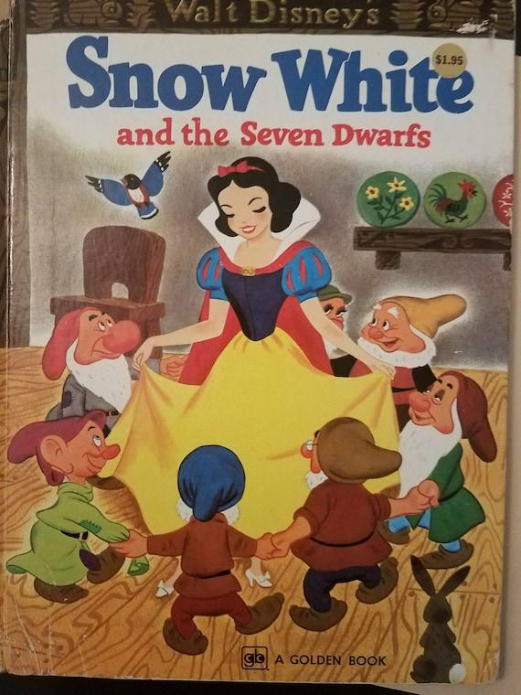 Blanche Neige Walt Disney Et Les Sept Nains Livre D Or Vintage 1979 1970s Disney Gramophones Papercraft