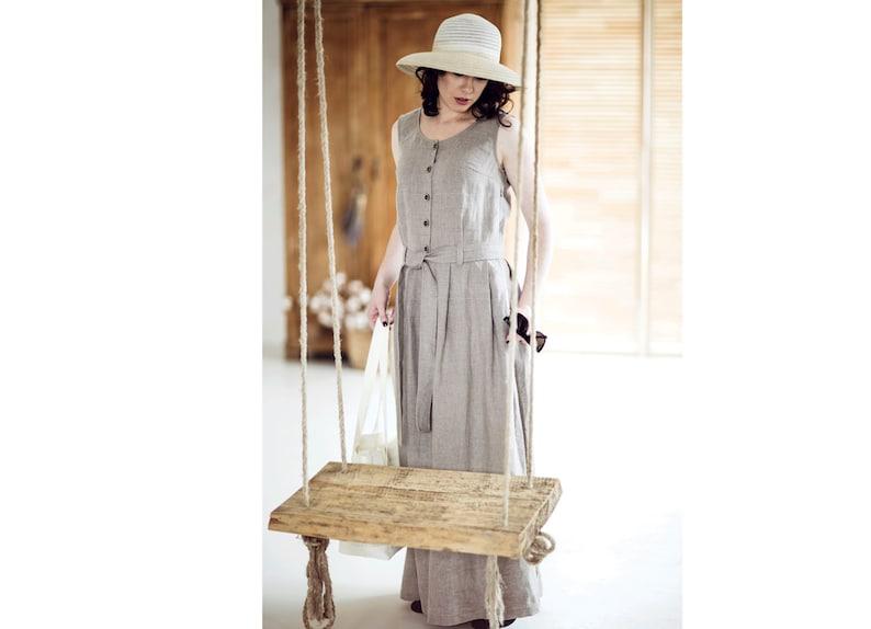 1c2a9b9e19 Linen maxi dress 20 COLORS Linen dresses for women Summer