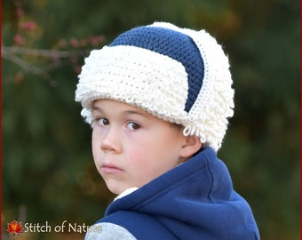 Crochet PATTERN - The Yukon Trapper Hat and Cowl Set Pattern b99809bb87a