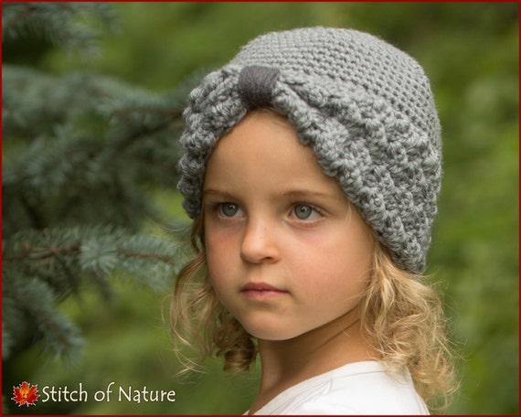 Crochet Pattern The Margaret Turban Hat 1920s Hat Pattern Etsy