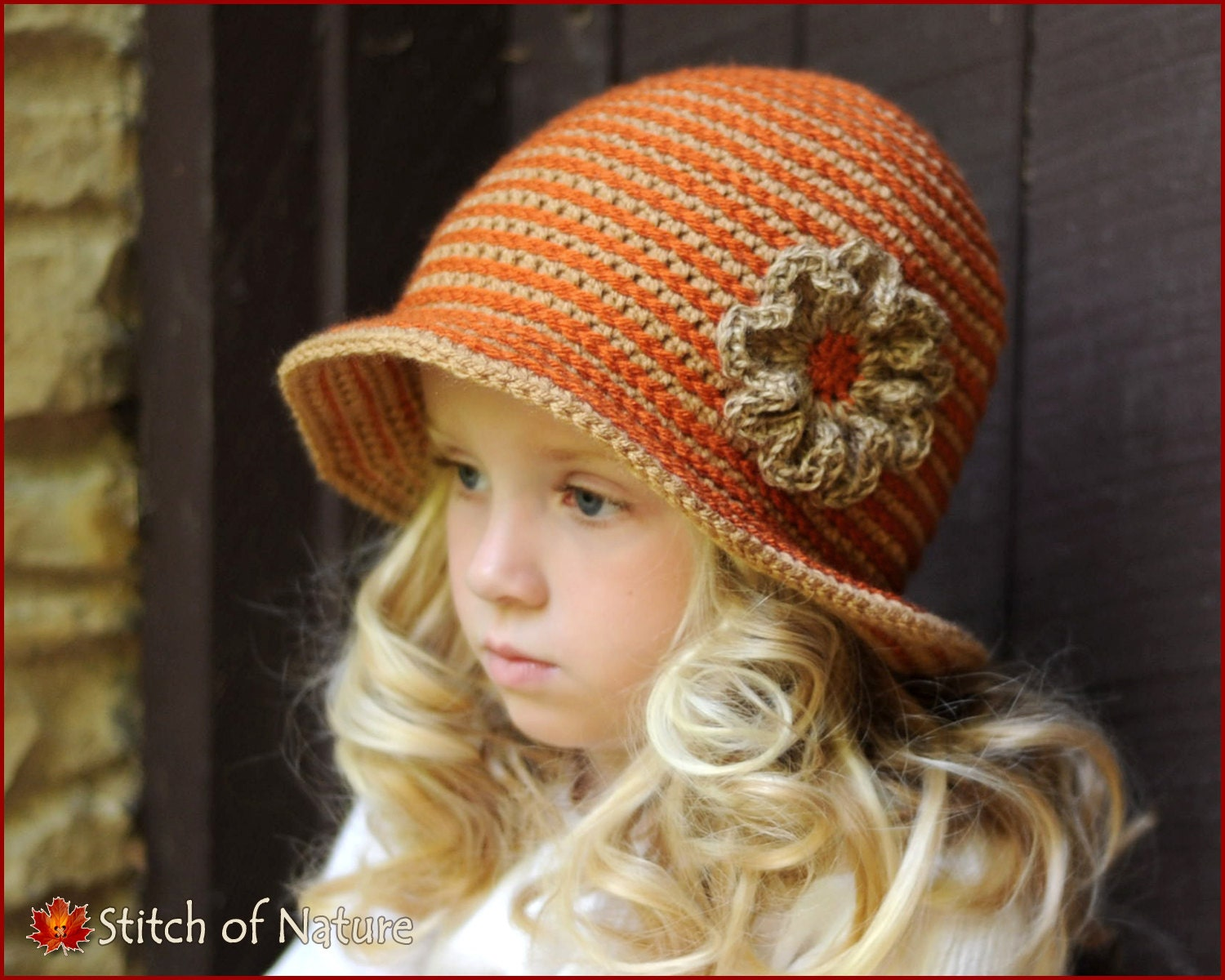 Crochet Pattern The Carolina Brimmed Hat With A Jute Twine Etsy