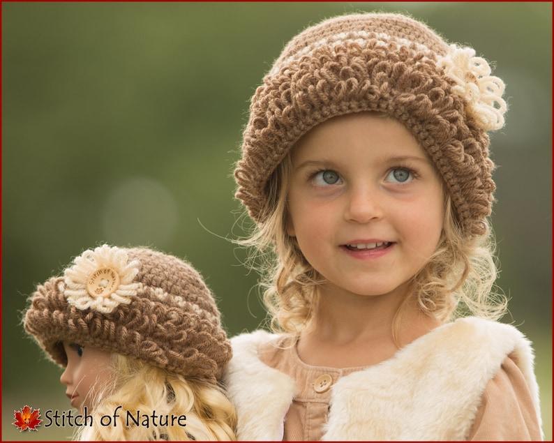 a2ecd1d6aa5 Crochet PATTERN The Bristol Cloche Hat Vintage Hat Pattern