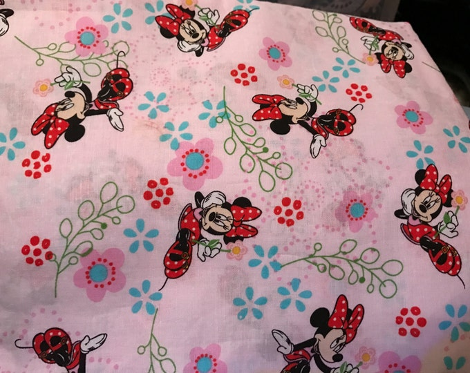 Minnie Mouse Satin Lined Bonnet