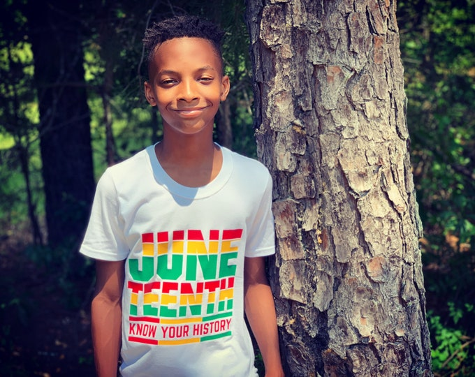 JUNETEENTH - Know Your History T-Shirt