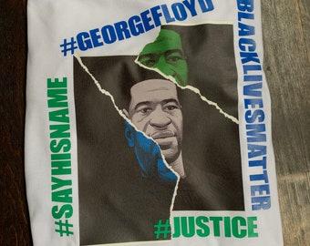 GEORGE FLOYD #BLACKLIVESMATTER T-Shirt