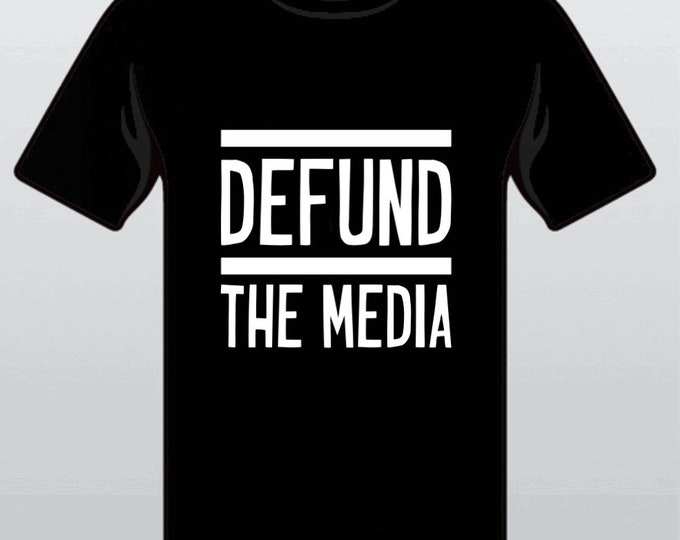 Defund the Media Apparel