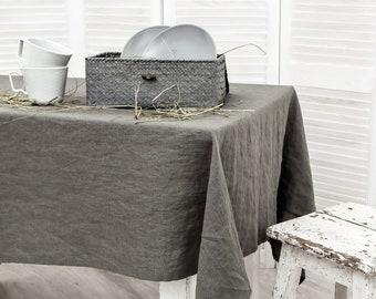 Charmant Linen Tablecloth | Etsy