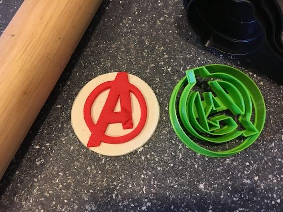 Avengers Logo Cookie Cutter//Fondant//Icing