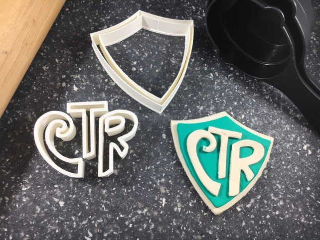 Ctr Choose The Right Lds Cookie Cutter Fondant Cutter Etsy