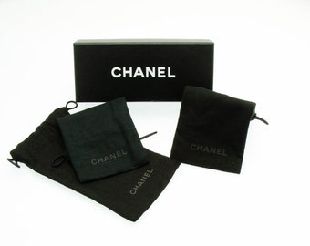 a8ab0c85f052 CHANEL Empty Dust Bag Pouch for Sunglasses-Eyeglass Pouch