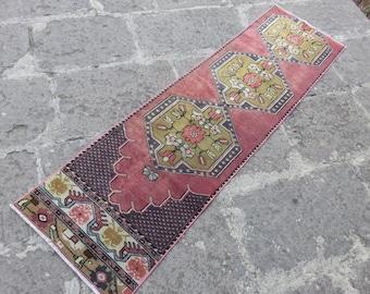 Runner Floor runner Vintage floor Hallway rug runner 1.8x6.6 ft RUNNER Narrow Runner teppich