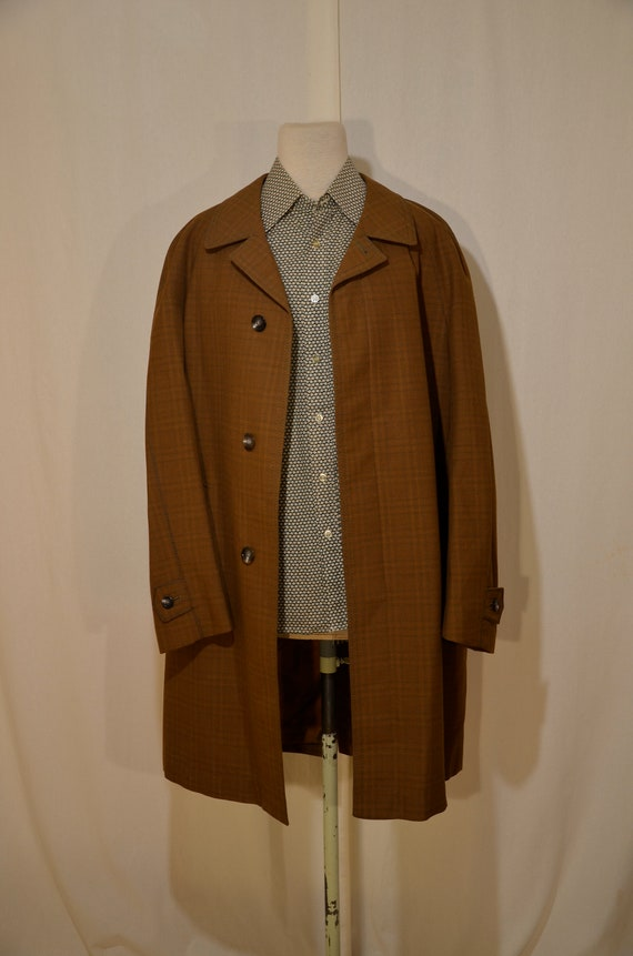 Men's rain coat // 60's // Finnish design