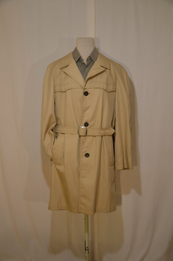 Men's trench coat // 60's // Finnish design