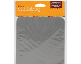 "Cuttlebug Rubber Embossing Mat 5.25"" X 7.25"" RJ3-11-CREM"