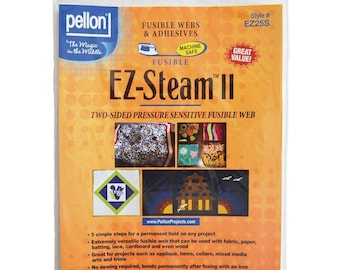 Pellon EZ-Steam II - two sided pressure sensitive fusible web  RH2-EZ25S