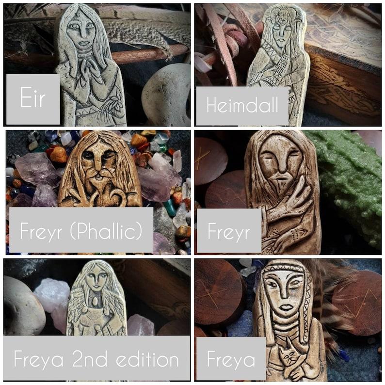 6x Norse GodsGoddesses