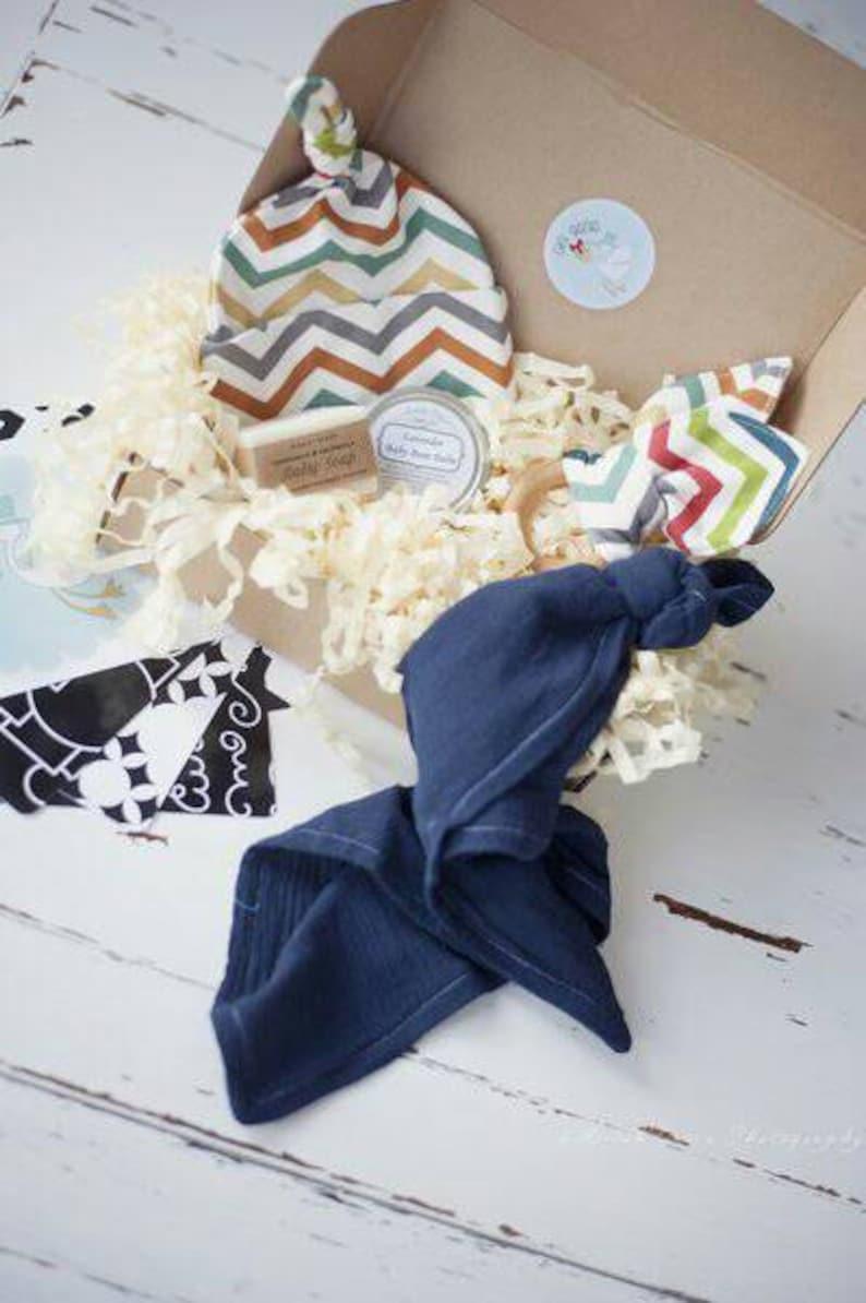 Newborn Handmade Gift Set Gender Neutral Baby Shower Gift Etsy