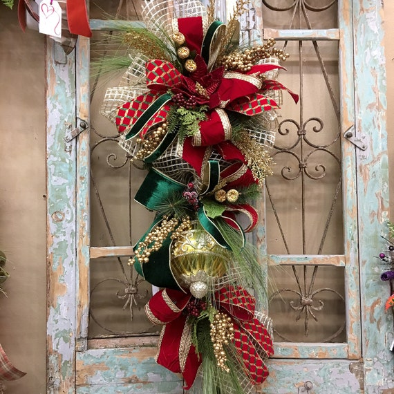 Christmas Swags Decorations: Christmas Swags, Christmas Wreath, Outdoor Swags