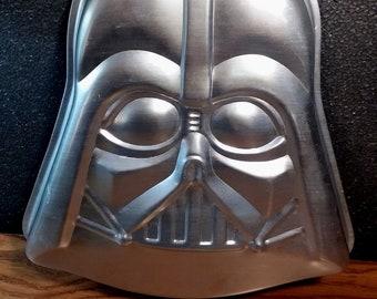 1980 Darth Vadar Cake Pan from Wilton Vintage Star Wars Birthday Party Supplies