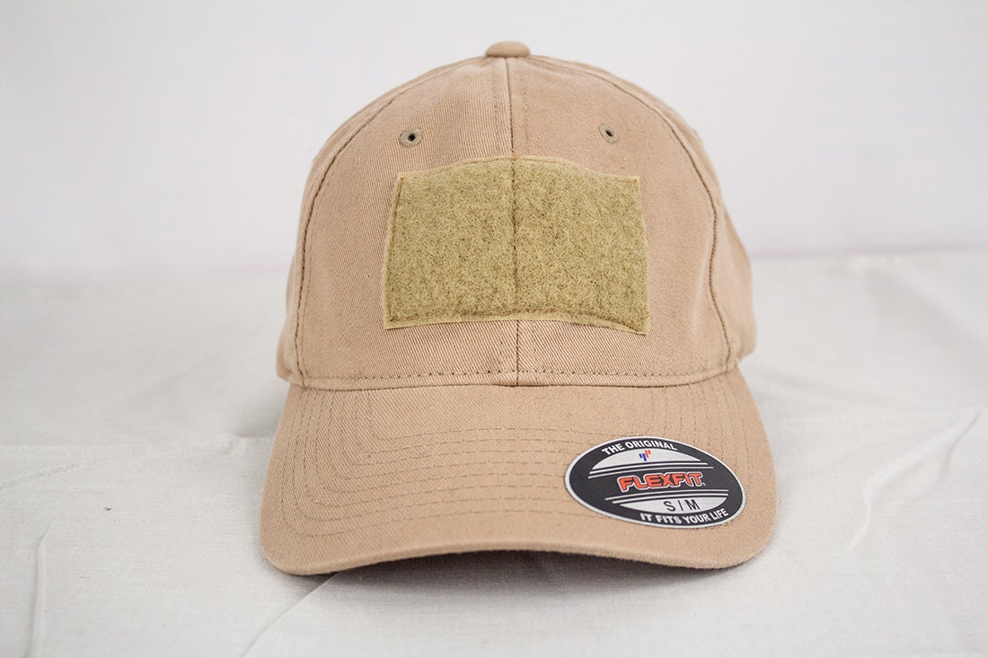 Patch Ready Flex Fit Hat - Tan