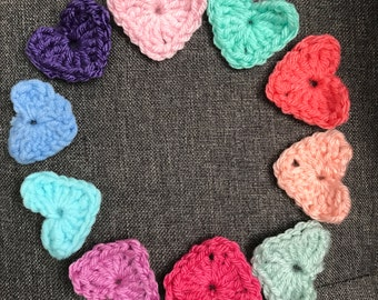 Made to Order - Hearts... Set of 10