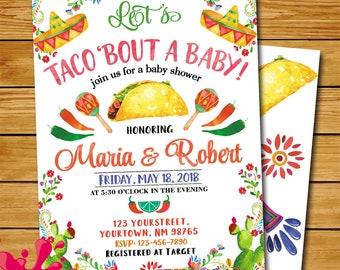 Fiesta Baby Shower Etsy