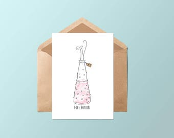Card • Love potion