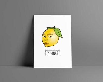 Beymonade • poster & card