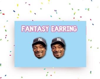 SALE! Snoop Dogg  earring