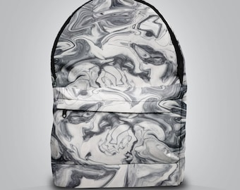SALE! GREY MARBLE backpack bag