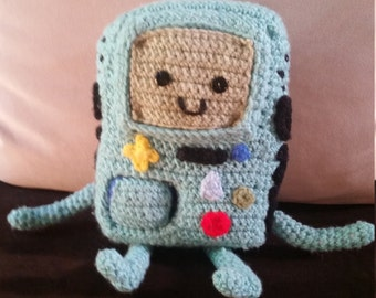 Adventure Time Beemo Crochet Doll
