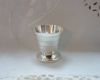 SILVER PLATED EGGCUP