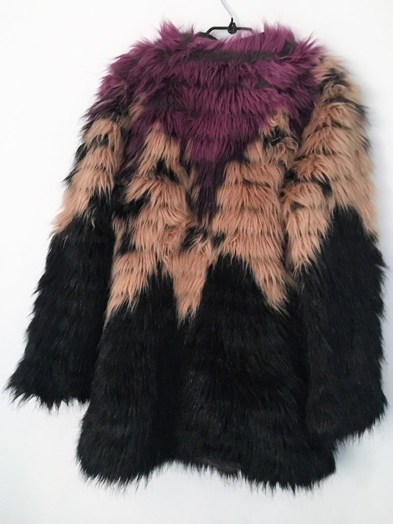 check out 72ac9 6fcee Faux Fur imitation/Jacket for women