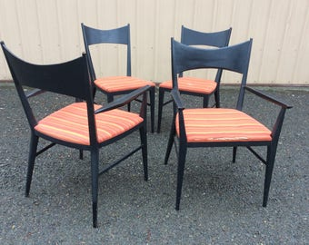 Paul McCobb Calvin Furniture Dining Chairs Set Of 4