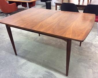 Kipp Stewart Drexel Walnut Dining Table Mid Century Modern