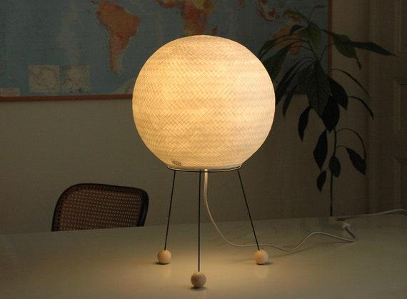 Japanische Papier Lampe Tischlampe Papier Stativ Papier Etsy