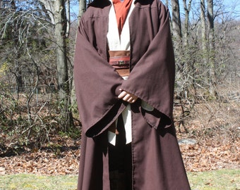 d96d898d9a Custom Star Wars Hooded Jedi Robe in color of your choice