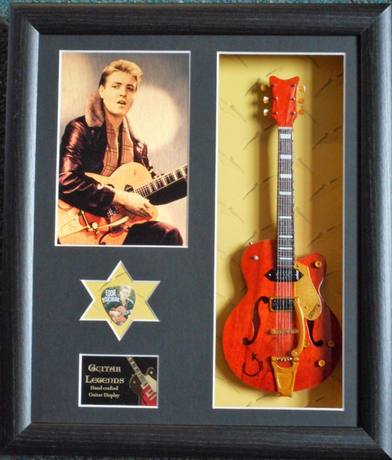 Eddie Cochran 10 X Plectrums /& Tin Guitar Picks Limited To 100
