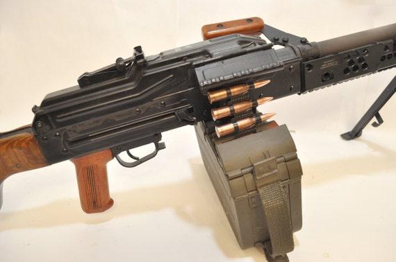 Machine Gun Belt 7 62x54R PKM Dummy SG43 Goryunov Maxim