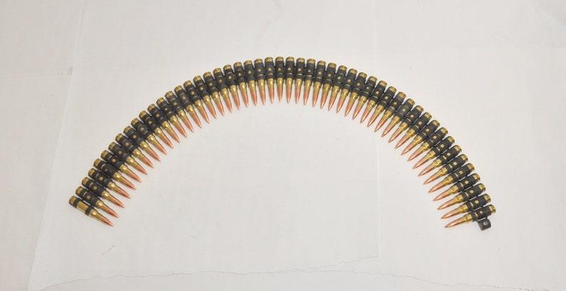 Machine Gun Belt   308 / 7 62x51 M240 M60 M134 Dummy Bullet