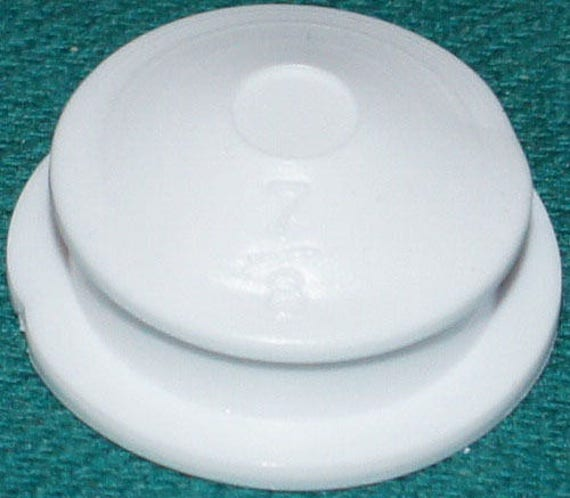 """Made in USA Rubber Stoppers for Salt /& Pepper Shakers 2 1/"""" hole"""