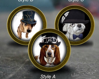 Dog Cabinet Knobs   Etsy