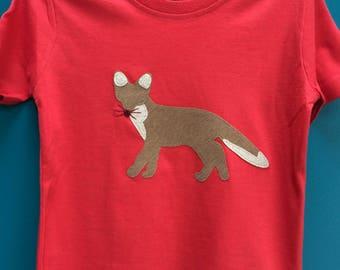 Fox T shirt - Big Brother shirt - Animal Lover - Gifts for Boys - Sister Gift - Gifts for Sons - Fox - Animal - Fox Top - Big Sister T shirt
