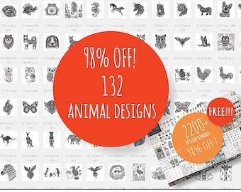 98% OFF Animal set and big bundle