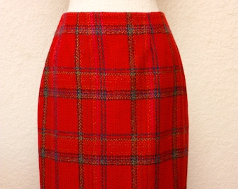 ELLEN TRACY Red Skirt