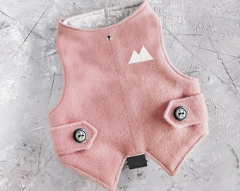 Classic Pink Tweed Cat Harness. Difficult to escape | ALLCATSGOOD