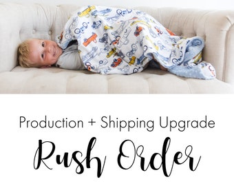 Rush Order + Expedited Shipping Upgrade - Approval Required!