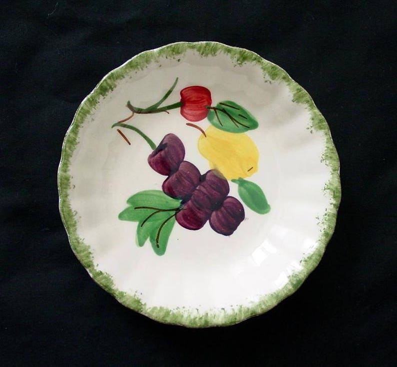 5 1/4 Blue Ridge Dessert Bowl FRUIT FANTASY 5.25 image 0