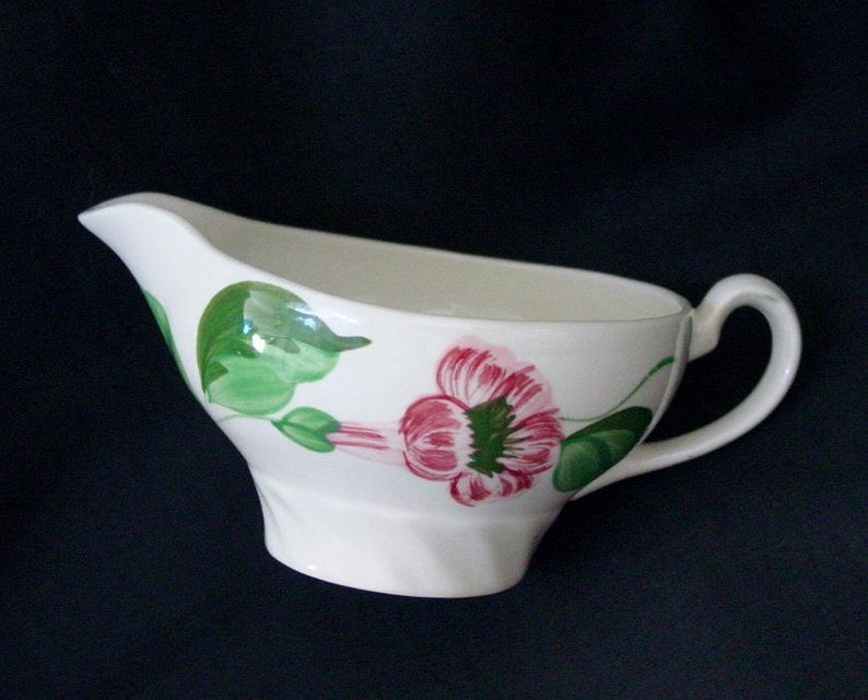 Blue Ridge Creamer Cream PITCHER Trumpet Vine Southern Pottery image 0